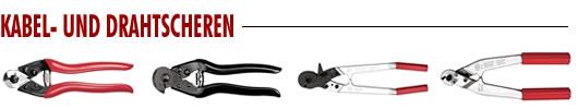 Kabel- und Drahtscheren
