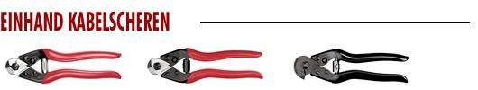 Einhand Kabelscheren
