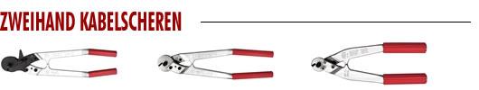 Zweihand Kabelscheren