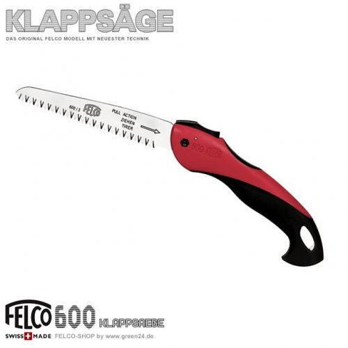 FELCO 600 Taschen- Klappsäge Astsäge