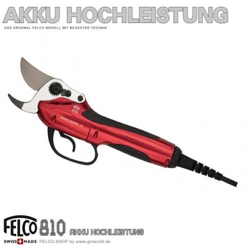 FELCO 810 - Hochleistungs-Akku Schere