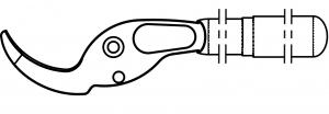 Felco 220/1 Griff mit Gegenklinge