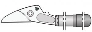 Felco 230/1 Griff mit Klinge