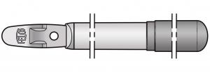 Felco 230/2 Griff für Ambossseite