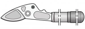 Felco 231/1 Griff mit Klinge