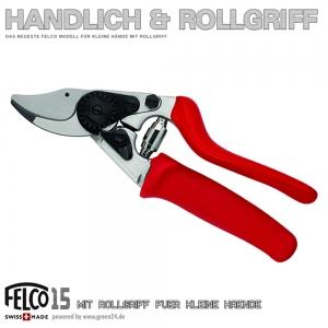 FELCO 15 Kompakt Rollgriff - Schere für kleine Hände