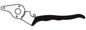 Felco 4CH/1 Griff für Klinge