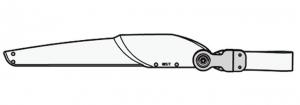 Felco 620/7 Futteral mit Schlaufe