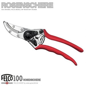 FELCO 100 Rosenschere - Präsentierschere