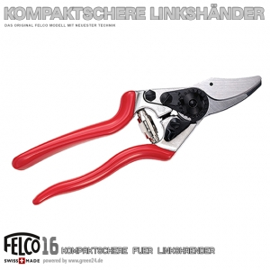 FELCO 16 Kompaktschere Linkshänder