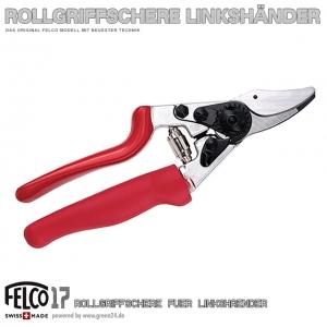 FELCO 17 Rollgriff-Schere Linkshänder