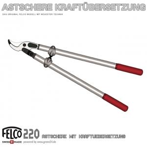 FELCO 220 Getriebeastschere