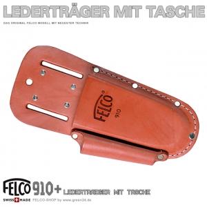 FELCO 910+ PLUS Lederträger mit Tasche